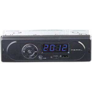 Pearl MP3-Autoradio CAS-300 mit Wiedergabe von USB & microSD, 2x 7 W