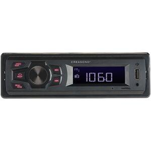 Creasono MP3-Autoradio CAS-500 mit Wiedergabe von USB & microSD, 4x 7 W