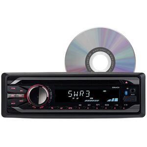 Creasono MP3-Autoradio mit Bluetooth, CD-Player, USB, SD, RDS, 4x 50 Watt