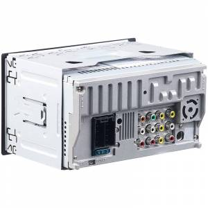 Creasono 2-DIN-MP3-Autoradio mit Touchdisplay, Bluetooth, Freisprecher, 4x 45 W