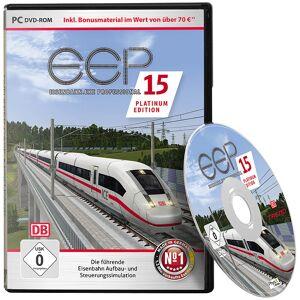 EEP Eisenbahn-PC-Simulator, EEP Expert 15 Platinum (in DVD-Box)