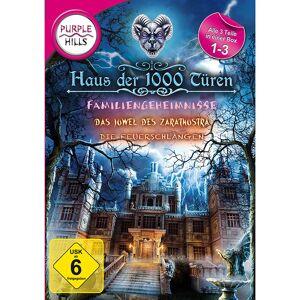 """Purple Hills Wimmelbild-PC-Spiel """"Haus der 1000 Türen 1-3"""""""