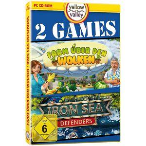 """Yellow Valley PC-Spiele """"Iron Sea Defenders"""" und """"Farm über den Wolken"""""""