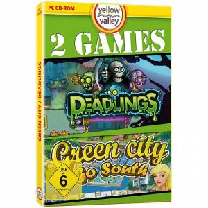 """Yellow Valley PC-Spiel """"Green City 3 - Go South"""" und """"Deadlings"""""""