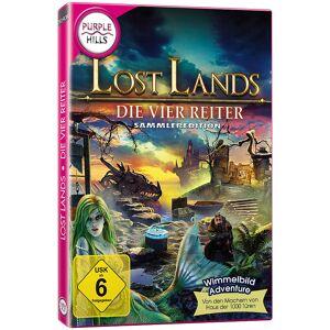 """Purple Hills Wimmelbild-PC-Spiel """"Lost Lands - Die vier Reiter"""", Sammleredition"""