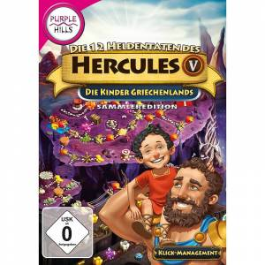 """Purple Hills PC-Spiel """"Die 12 Heldentaten des Herkules 5"""""""