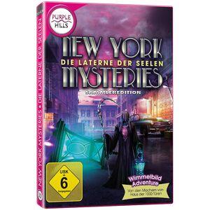 """Purple Hills Wimmelbild-PC-Spiel """"New York Mysteries - Laterne der Seelen"""""""