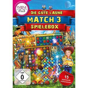 """Purple Hills 3-Gewinnt-Paket """"Die grosse gute Laune Match 3 Spielebox"""""""