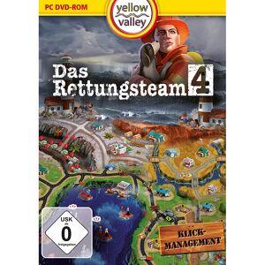 """Yellow Valley Klickmanagement-Spiel """"Das Rettungsteam 4"""", für Windows 7/8/8.1/10"""