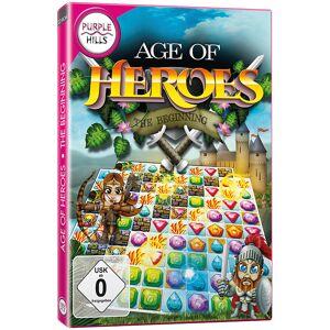"""Purple Hills Match3-Spiel """"Age of Heroes - The Beginning"""", für Windows 7/8/8.1/10"""