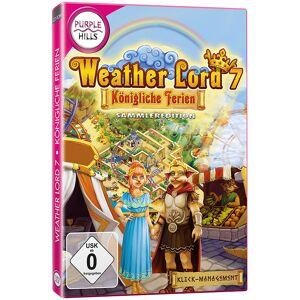 """Purple Hills Klickmanagement-Spiel """"Weather Lord 7 - Königliche Ferien"""""""