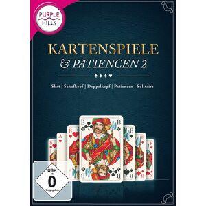 "Purple Hills PC-Kartenspiel ""Kartenspiele & Patiencen 2"""