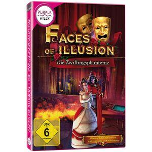 "Purple Hills Klickmanagement-Spiel ""Faces of Illusion - Die Zwillingsphantome"""