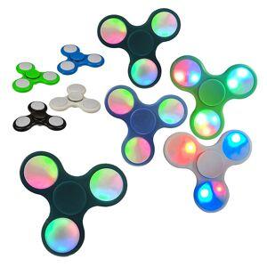 Out of the blue Beleuchteter Hand-Spinner mit LED-Lichtshow Fingerspinner