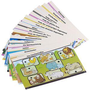 """Playtastic Lernkarten-Set für NX-1189 """"JuniorI"""" Zahlen & Formen, 32 S."""