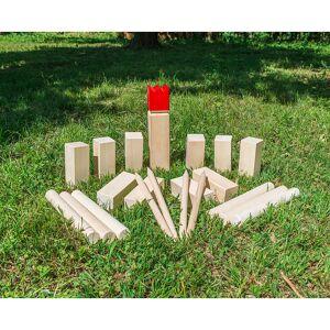 Playtastic Wikinger-Spiel aus Holz, ideal für Wiese, Strand & Co.