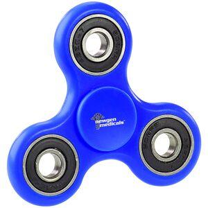 newgen medicals 3-seitiger Hand-Spinner mit hochwertigem ABEC-7-Kugellager, blau
