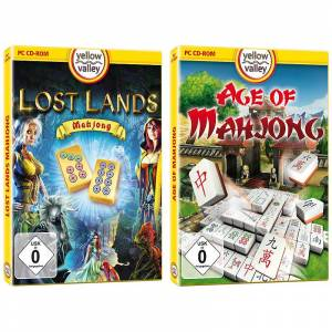 "Yellow Valley 2er-Set PC-Spiele ""Lost Lands Mahjong"" und ""Age of Mahjong"""