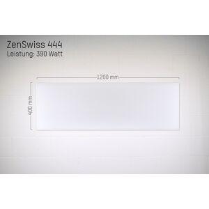 ZenSwiss Deluxe Infrarotheizung 390W / 40 cm x 120 cm (Matt Weiss)