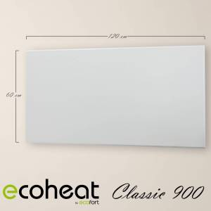 ecoheat Classic Infrarotheizung 900W / 60 cm x 120 cm (60 cm)