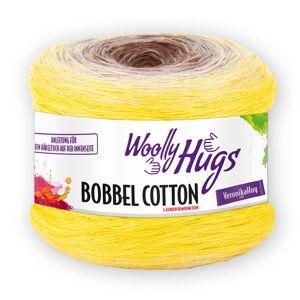 Woolly Hugs Bobbel Cotton von Woolly Hugs, Gelb/Beige/Braun