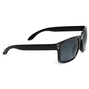 Paul Riley Schwarze Retro Sonnenbrille