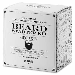 Golden Beards Hygge Bart Starterset