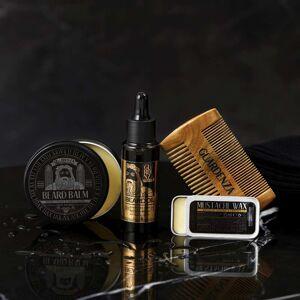 Guardenza Bartpflege Set Black Edition