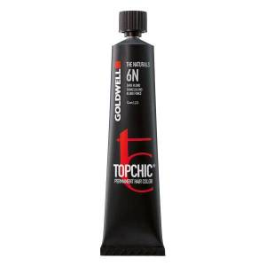 Goldwell Topchic Permanent Hair Color Cool Browns 5BP Perl Braun Mittel, Tube 60 ml