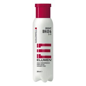 Goldwell Elumen High-Performance Hair Color Bright BK@6, 200 ml
