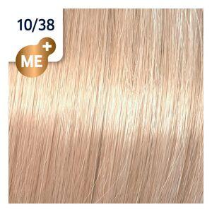 Wella Koleston Perfect ME+ Rich Naturals 10/38 Hell Lichtblond Gold Braun, 60 ml