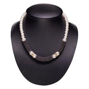 Dynatron Perlenkette Anthrazit