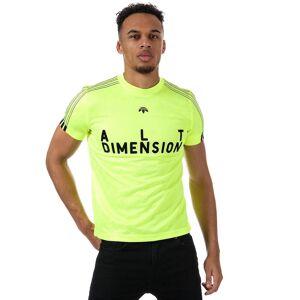Adidas Originals Herren Alexander Wang Trikot in gelb XS