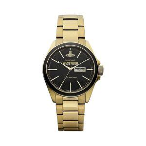 Vivienne Westwood Uhren Vivienne Westwood Vv063gd Camden Lock Schwarz & Gold Edelstahl Herren's Uhr