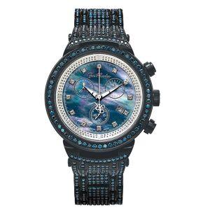 Joe Rodeo diamante orologio - MASTER nero 25 ctw