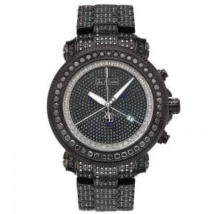 Joe Rodeo Diamant Herren Uhr - JUNIOR schwarz 27 ctw