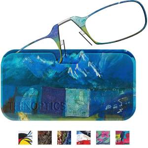 ThinOptics Secure Fit Armless Ultralight Reading Glasses with Desig...