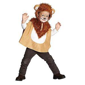 Rubies Löwen Cape Löwenkostüm Tierkostüm für Kinder 116