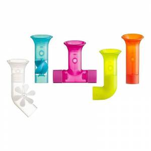 Boon Segensreichen Rohre Spielzeug mehrfarbig