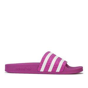 Adidas Frauen's adidas Originale Adilette Slide Sandalen in Pink Rosa UK 3