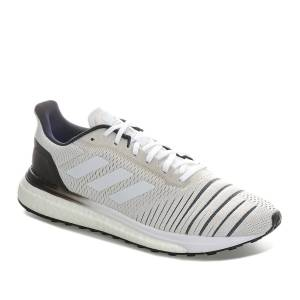 Adidas Womens adidas Solar Drive Running Shoes In Cloud White/Core Black Weiß UK 8