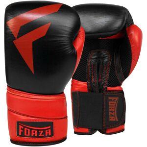 Forza MMA Forza sport gants de boxe en cuir Pro - noir/rouge