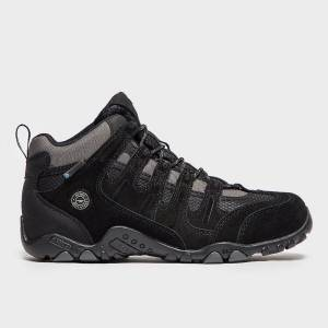 Hi-Tec Nouveau Salut Tec Men's Saunter Waterproof Walking Shoes Noir