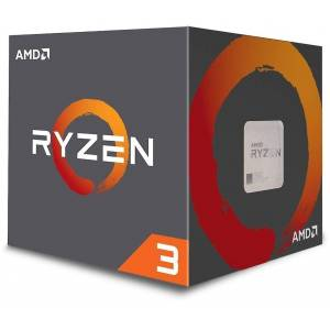 AMD Ryzen 3 1200 CPU with Wraith Stealth Cooler  Silver
