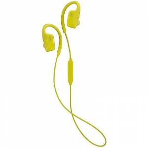 JVC AE drahtlose Bluetooth Sport Clip-Kopfhörer - gelb (Modell-Nr. HAEC30BTY)