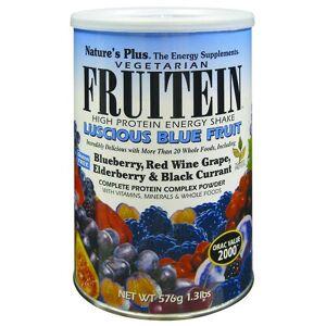 Natures Plus FRUITEIN SUCCULENTA frutta blu SHKE 1,35 LB