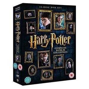 Harry Potter - 8-Film Komplettkollektion [2016]-DVD-Box-Set