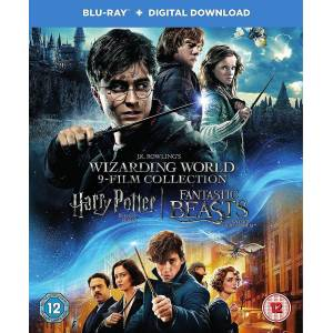 Warner Home Video Harry Potter Wizarding World 9 Film Collection [B...