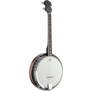 Stagg 4-saitige Tenor Banjo mit Metall-Topf (BJM304DL)