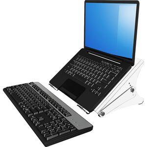 Dataflex Notebookständer ERGONOTE® für Notebooks bis 15,4'' Acryl transparent